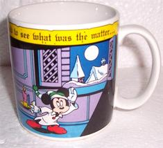 "Mickey & Pals Mug ""There Arose Such A Clatter..."" Mickey Mouse Mug by Ap... - $29.80"