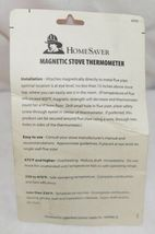 HomeSaver 40900 Magnetic Stove Thermometer Wood And Coal Stoves image 3