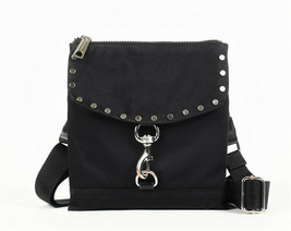 Rebecca Minkoff Nylon Flap Crossbody Bag - Black (Retail price - $145) - $44.55