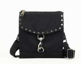 Rebecca Minkoff Nylon Flap Crossbody Bag - Black (Retail price - $145) - $44.55