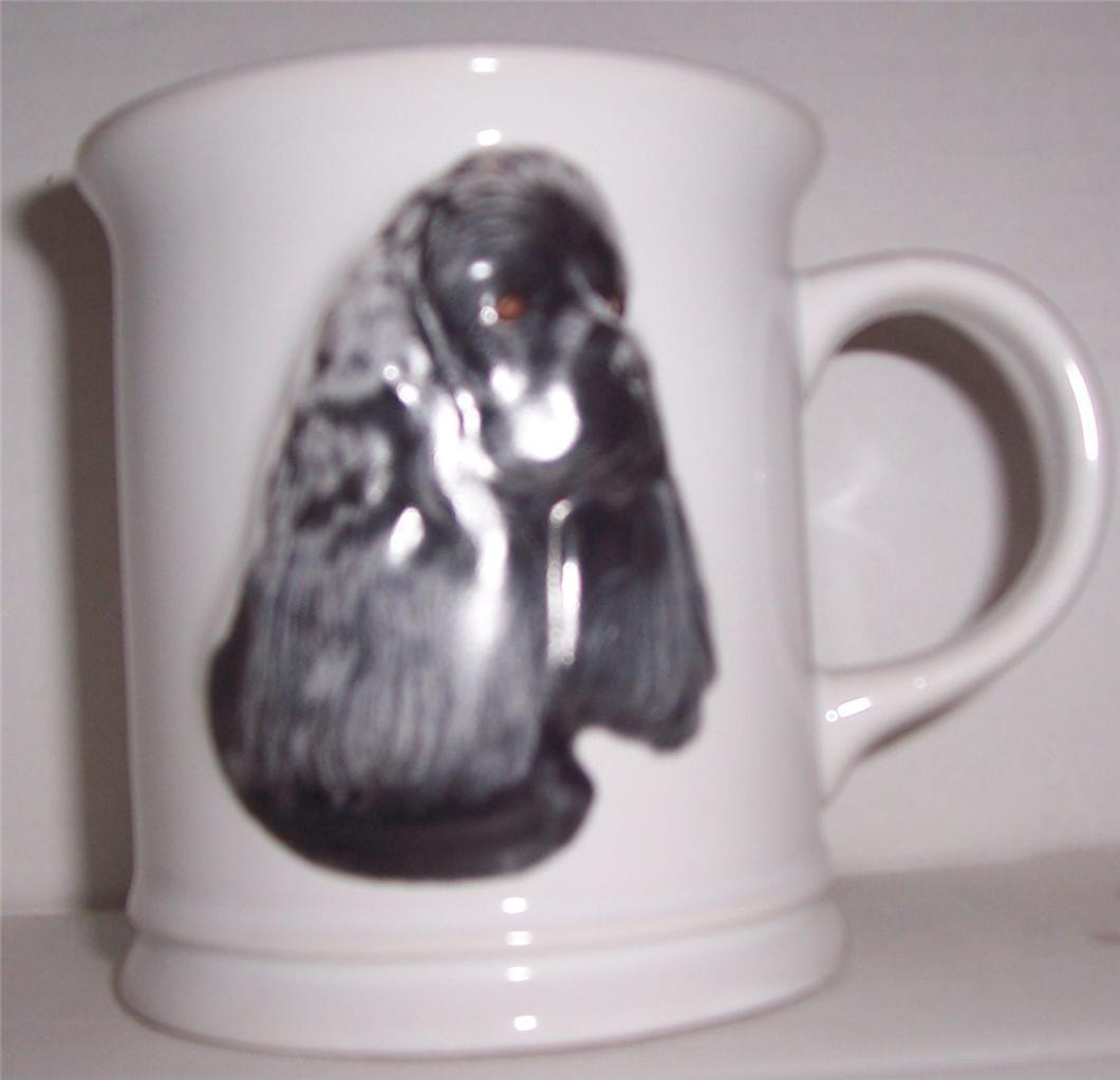 "NEW 1999 ""Cocker Spaniel"" Barbara Augello Xpres Best Friends Originals Mug"