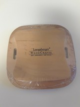 Longaberger Mulberry Booking Basket Lid Only Warm Brown New  50314   RARE - $14.80