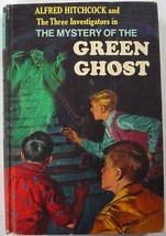 Three Investigators The Mystery of the Green Ghost 5th Print hc Robert A... - $10.00