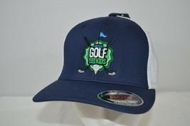 2014 Golf Fore Kids Blue/White Baseball Cap Flex Fit L/XL - $19.99