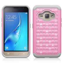Layer Diamond Protective Case for Samsung Galaxy J1 2016 / AMP 2  - Pink... - $4.99