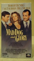MCA Universal  Mad Dog and Glory VHS Movie  * Plastic * - $4.34