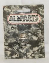 Allparts MK 3335010 Skull Knob Antique Chrome For 6mm Shaft Pots image 1