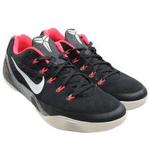 NIKE Kobe 9 Low EM Black White Laser Crimson Cement Sneakers Size 9 6467... - $84.14