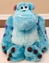 """Disney Store Authentic Sulley Sully Monsters Inc 15"""" Plush Doll Super Soft - $24.50"""