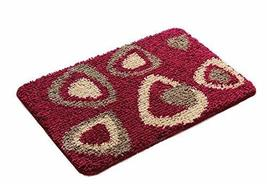Bedroom Carpet Kitchen Bathroom Non-slip Cotton Door Mat (40x60cm, Trian... - €16,45 EUR