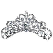 Fashional Dazzle Sliver Alloy Wedding Hair Comb Crown Headband