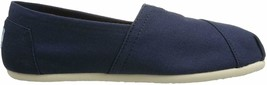 NEW Toms Women's The Venice Collection Classic Navy Canvas Slip On Flats Shoes image 2
