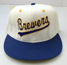 Milwaukee Brewers Pro-Line ANNCO Pro Model Baseball Fitted Hat 6 7/8 Dea... - $17.81