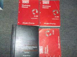 2003 Ford F-150 F150 TRUCK Service Shop Repair Manual Set OEM W EWD PCED... - $188.05