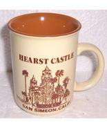 NEW William Randolph Hearst Castle San Simeon, California Souvenir Coffe... - $22.00