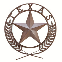 Texas Star Wall Plaque 10038595 - $40.95