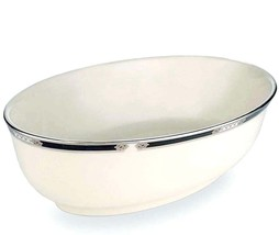 Lenox Hancock Platinum Banded Open Oval Vegetable Bowl New In Box image 2