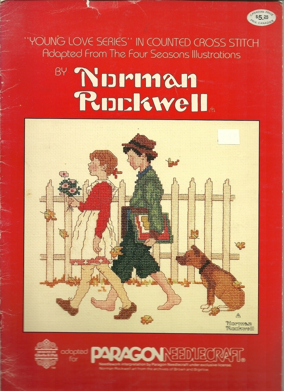Norman rockwell   young love  1