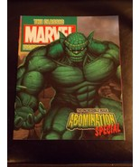 Classic Marvel Figurine Collection Magazine Incredible Hulk Obomination ... - $15.99