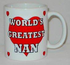 World's Greatest Nan Mug Can Personalise Gran Granny Grandma Nanny Birth... - $11.40