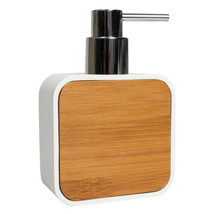 Ritz Bath Accessory Collection Poly Resin, Bamboo Bathroom Lotion/Soap D... - $15.99