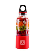500ML Portable Electric Juicer USB Rechargeable(Red) - $26.17