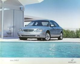 2004 Mercury SABLE sales brochure catalog 2nd Edition US 04 GS LS - $8.00