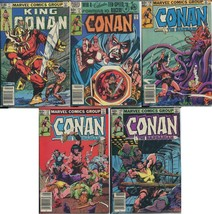 Marvel Comics Group Conan the Barbarian Comic Books (Lot of 5) UNGRADED - $24.74