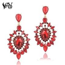VEYO Crystal Earrings for Women Gift Luxury Drop Earrings New Arrival Wh... - $16.60