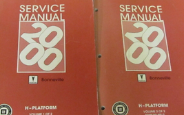 2000 PONTIAC BONNEVILLE Service Repair Shop Workshop Manual Set OEM - $29.65