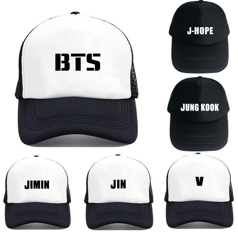 5b7ef3dc166 Kpop BTS Baseball Cap Adjustable Snapback and similar items. S l1600