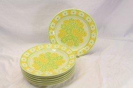 "Franciscan Picnic Dinner Plates 10.75"" Set of 7 - $61.69"