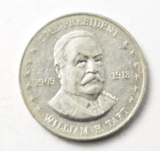 William H Taft Shells Mr President Coin Game 26mm 1909-13 Aluminum 27th - $4.94