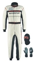 MotorSports Go Kart Race Suit-CIK-FIA-Level-2 with free gifts Balaclava - $160.99