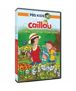NEW Caillou's Garden Adventures DVD PBS Kids With Bonus Puzzle Spring Tr... - $6.19