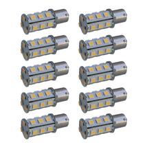 10-Pack HQRP BA15s 18 LEDs Bulb for 93, 1073, 1093, 1129, 1141, 1156 RV ... - $48.95