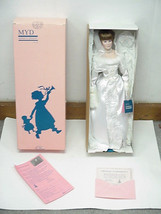 "Bride 20"" Collectable Porcelain Doll With Stand By Marian Yu Design #494... - $31.49"