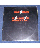 Black Sabbath We Sold Our Souls For Rock & Roll UK import LP 1970s - $26.99