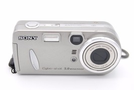 Sony Cyber-shot DSC-P92 5.0MP 3x Zoom Silver Digital CAMERA - $79.99