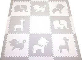 SoftTiles Foam Play Mat Safari Animals Premium Interlocking Foam Large a... - $111.41