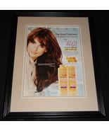 Penelope Cruz 2008 L'Oreal Vive Pro Framed 11x14 ORIGINAL Vintage Advert... - $32.36