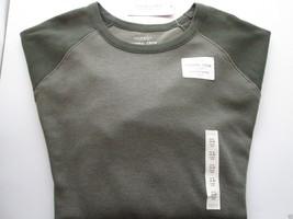 Sonoma Extra Soft Cotton Long SLV Thermal Crewneck T-Shirt Green XL $34 UPC54 - $14.00
