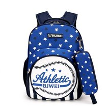 Samaz School Backpacks for Boys Kids School Book Bag with Pencil Case - $26.99