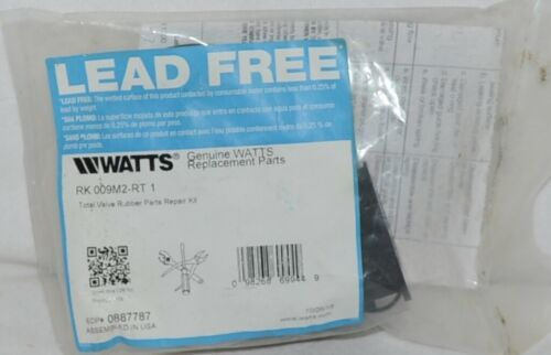 Watts Valve Rubber Parts Repair Kit One Inch Lead Free 0887787