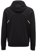 Hugo Boss Men's Reflective Logo Zip Sweatshirt Hoodie Jacket Saggy 50399379 image 2