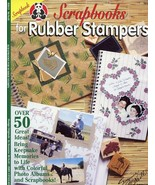 Scrapbooks for Rubber Stampers Suzanne McNeill Design Leaflet 28 pgs - $0.90