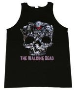 The Walking Dead Walker Skull Negan,Rick,Michonne,Daryl,Zombies Men's Ta... - $20.78+