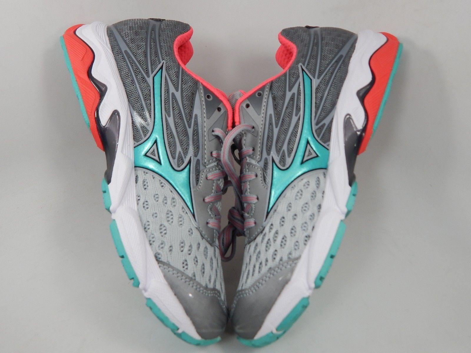 Mizuno Wave Catalyst 2 Size 10 M (B) EU 41 Women's Running Shoes Grey Turqouise