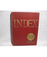 University Massachusetts Yearbook Index 1958 - $24.95
