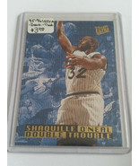 1995-96 Ultra Double Trouble #6 Shaquille O'Neal - Orlando Magic - $1.42
